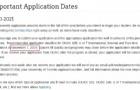 加拿大大学最新申请截止日期公布!建议收藏好哟!