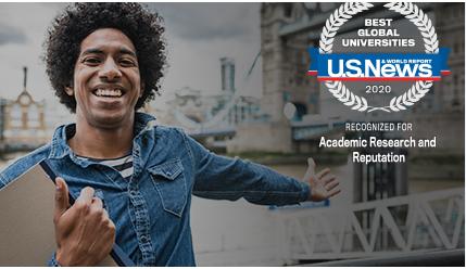 2020USNews世界大学排名公布!TOP100大学美国占一半