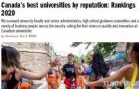 2020年麦克林加拿大大学排名出炉,榜单第一还是她!