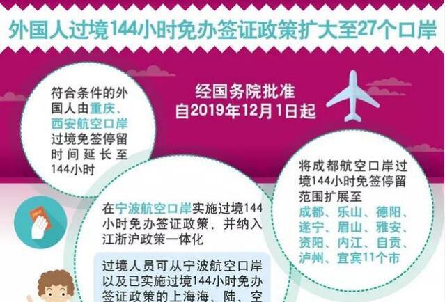 华人回国不用签证啦,免签过境再升级!扩大至23个城市27个口岸!