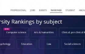 2020泰晤士世界大学学科排名:新加坡国大南大多专业排名位居亚洲大学前列!