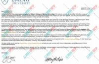 提前规划,合理安排,恭喜L同学终获埃默里大学offer!