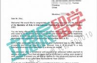 适合自己的才是最好的,Z同学获取EU欧洲大学国际关系专业录取