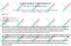 长期沟通和跟进,合理规划,恭喜Z同学获得哥伦比亚大学offer!