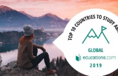国际留学生最佳海外学习国家第一名:新西兰