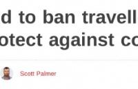新西兰官宣:禁止中国来的旅客入境新西兰今天开始!