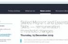 新西兰移民局宣布,提高技术移民和工签薪资要求