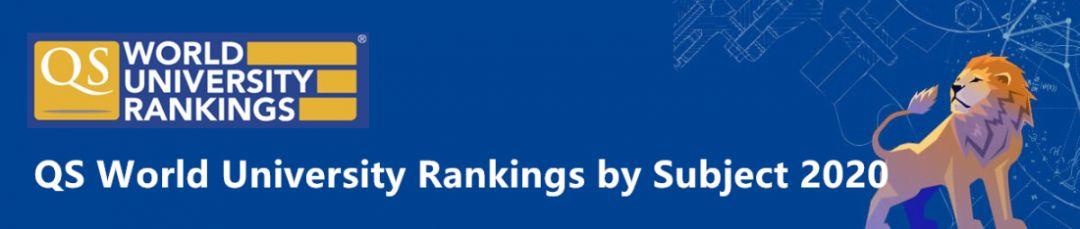 2020QS世界大学学科排名重磅发布!澳洲高校表现可圈可点!
