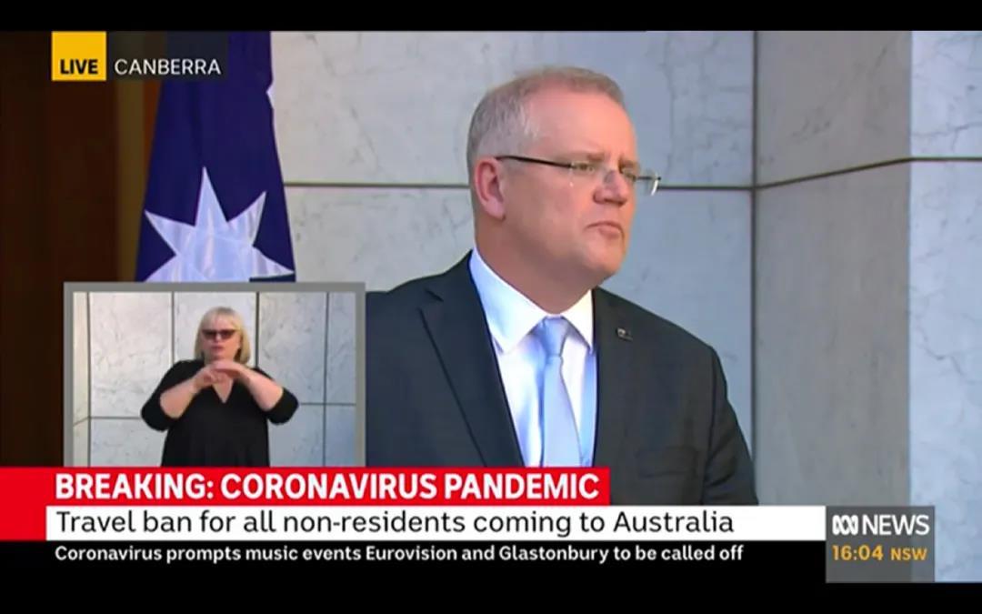 """澳洲正式宣布""""封国""""!澳洲多所学校停课或线上授课!"""