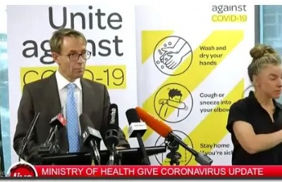 新西兰新增36例确诊病例 确诊病例已总计102例!