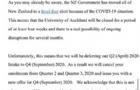 最新消息!奥克兰大学4月课程延期至9月开学!