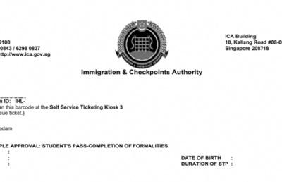 新加坡公布最新入境管控措施,学生证需获批准方可入境