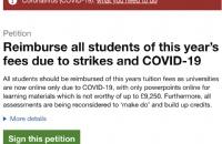 因疫情影响,30多万人在英政府官网发起请愿要求大学退还学费!
