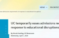 重磅!UC调整招生政策,宣布暂时取消SAT