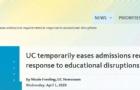 最新消息!UC调整招生政策,宣布暂时取消SAT