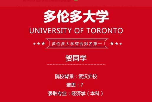 加拿大名校offer纷至沓来!贺同学如何赢得加拿大多所名校青睐?