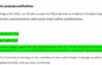 海内外部分高校宣布接受四六级、多邻国英语成绩!