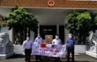 中国驻马来西亚使馆捐赠医疗物资给马中友好等商团机构