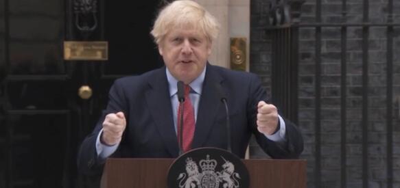 英国首相康复后首次演讲:绝不会让疫情再次失控!
