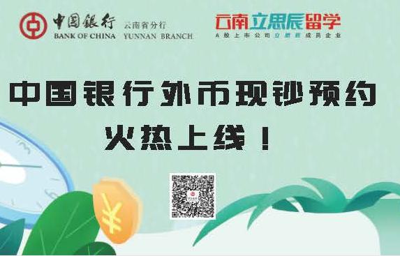 中国银行外币现钞预约火热上线!