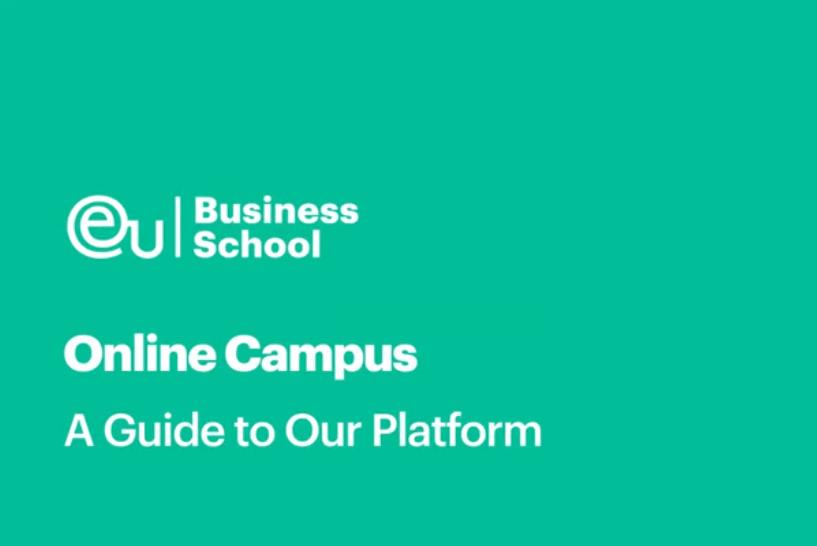 EU商学院的线上课堂是怎么样的