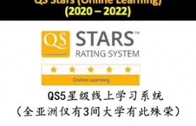 泰莱大学线上学习系统获QS5星评级