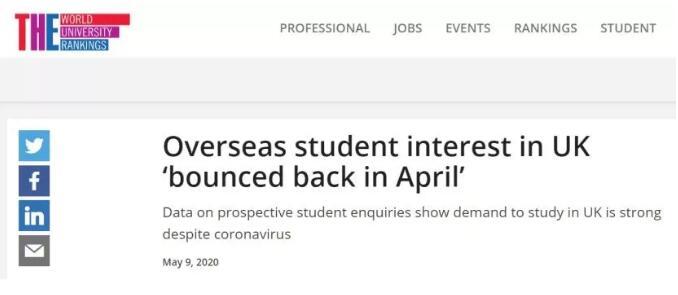 英国留学申请人数成堆积性增长!2021年申请或最难