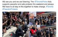 加拿大总理特鲁多下跪了!面对大批示威者,诚恳跪下倾听民意!