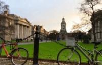 爱尔兰圣三一大学计划改善人行道和自行车道,为提供更多的便利