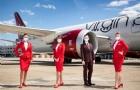 维珍航空首次执飞伦敦-上海航线