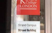 B同学喜获她理想院校KCL的录取实现了自己对名校的憧憬!