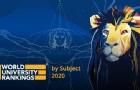 2020最新QS世界大学学科排名,日本大学篇!
