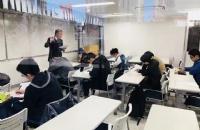有着充实的留学考试对策的语言学校,东京湾岸日本语学校!