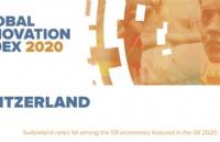 瑞士在2020年全球创新指数中排名第一!