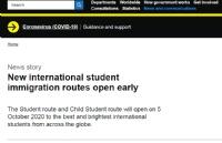 好消息!英国新学生签证系统将提前开放啦!