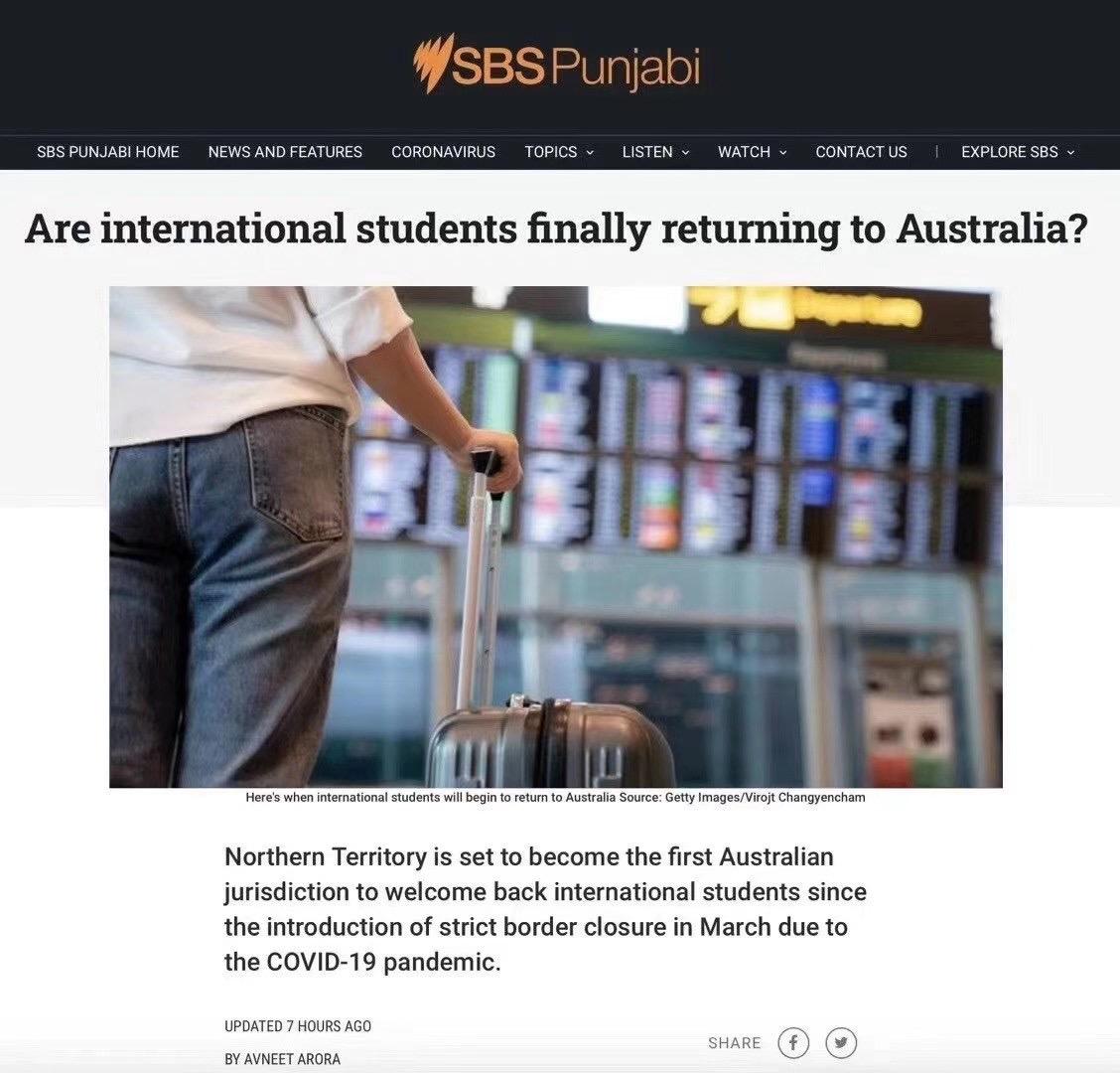 留学生返澳试点时间确定!各州确定详细返澳计划
