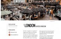 英国伦敦连续5年当选全球最佳城市!