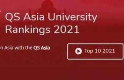 重磅!QS2021亚洲大学排名发布!马来亚大学排名第9