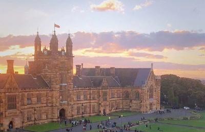 高度信任立思辰留学,悉尼大学offer收入囊中!