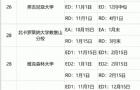 美本TOP50大学2021秋季申请截止及放榜日期汇总!