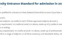 新西兰没有高考,如何被大学录取呢?看完这个你就懂了!