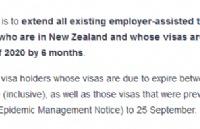 重磅!五类工签被自动延期6个月,而此类签证将缩短6个月!