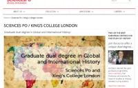 巴政+KCL全新双学位硕士项目:全球与国际历史
