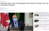 加拿大疫苗接种时间表:怎么查询轮到自己注射COVID-19疫苗了?