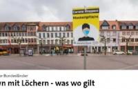 【你所需要知道的】德国各州的防疫新规