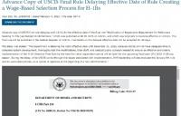 美国国土安全部推迟H-1B新规生效日期!