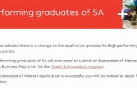 南澳州担申请政策更新!优秀毕业生现可通过人才和创新计划获邀!
