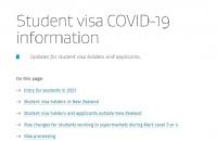 新西兰移民局发布工签及学签等豁免入境细则!
