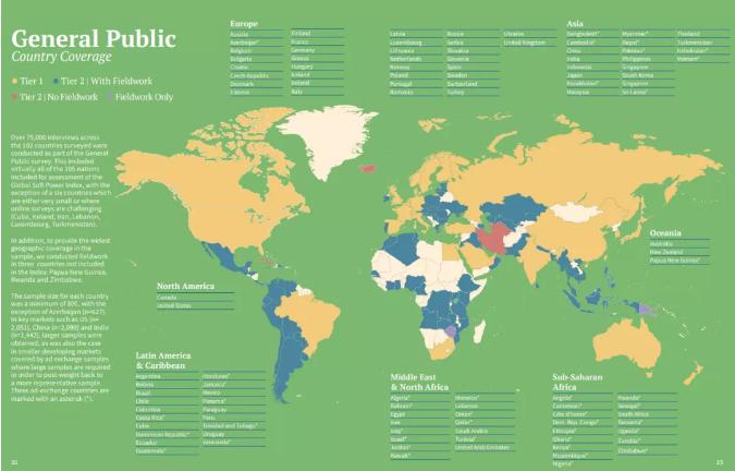 全球软实力指数排名出炉!加拿大国际认可度力压美、澳、新!
