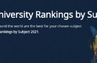 2021QS世界大学学科排名发布-工程与技术(韩国上榜名单)